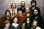 Самая ранняя команда Майкрософт позирует для группового портрета в 1978-ом. Гейтс внизу слева.