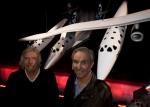 Ричард Брэнсон (Richard Branson) и авиаконструктор Burt Rutan (Берт Рутан)